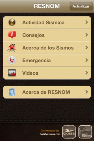 alerta sismica
