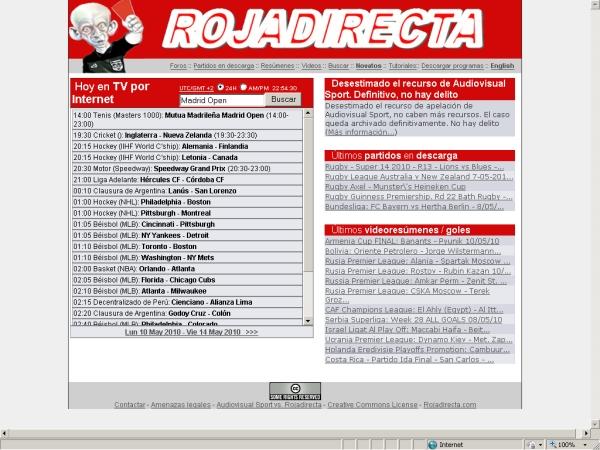 Related to tarjeta roja tv roja directa futbol en vivo copa del