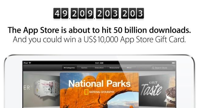 50 millones de descargas