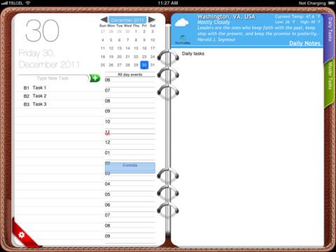 agenda para iphone