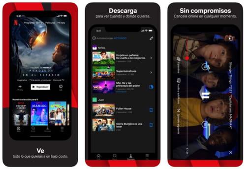 Descargar Netflix para iPhone e iPad